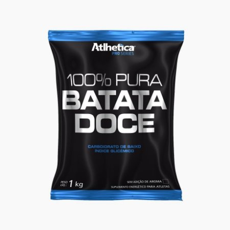 100% Pura Batata Doce Pro Series Refil (1Kg) - Atlhetica