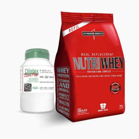 Nutri Whey Protein (907G) + Dilatex (152caps)