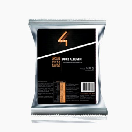 Pure Albumin (500g) - 4 Fuel