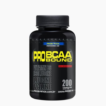 Pro BCAA Bound (200Caps) - Probiótica   (VENC: 01/2017)