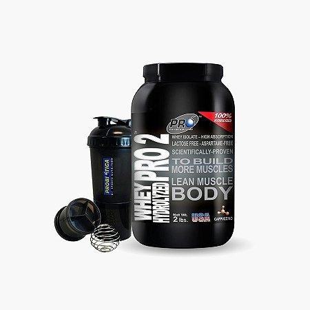 Whey Pro 2 Hydrolyzed (908g) - Probiótica - Grátis Shaker Probiotica