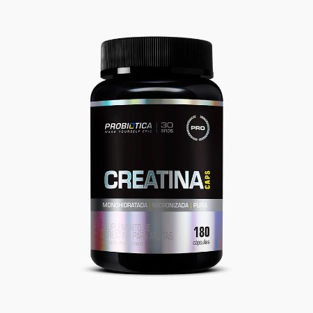 Creatina Caps (180 caps) - Probiótica