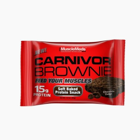 Carnivor Brownie (52g) - Musclemeds