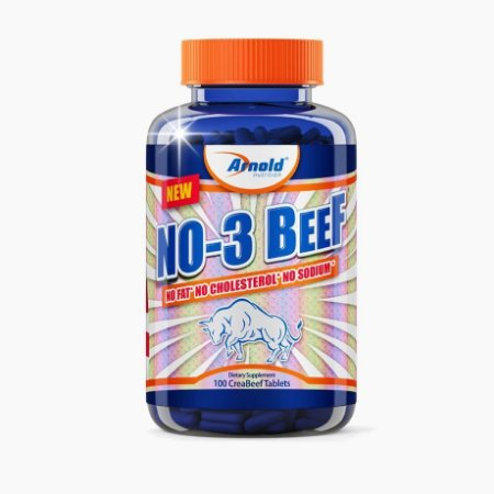 NO3 Beef (100tabs) - Arnold Nutrition