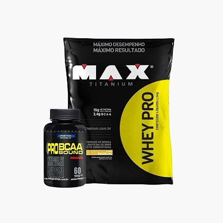 Whey Pro Max (1,5kg) + Bcaa Pro Bound (60 Caps)