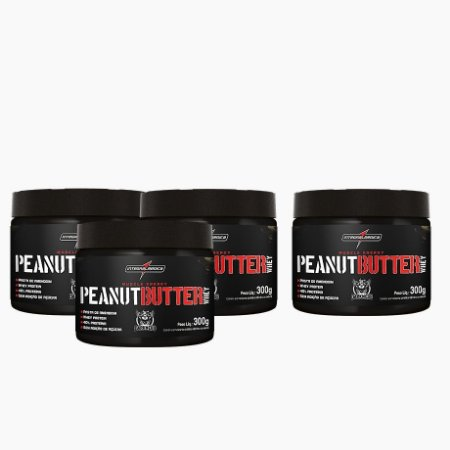 Peanut Butter Whey (300g) (COMPRE 3 LEVE 4) - Integral Medica