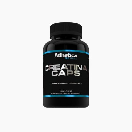 Creatina Pro Series (200 Caps) - Atlhetica Nutrition