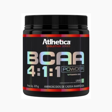 BCAA Powder 4:1:1 (225g) - Atlhetica Nutrition (VENC.: 01/12/17)