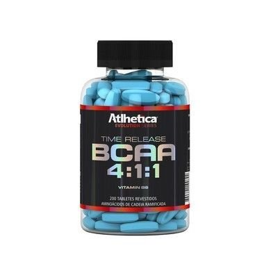 BCAA Time Release 4:1:1 (200 Tabs) - Atlhetica Nutrition - VENC (11/18)