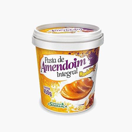 Pasta de Amendoim Integral (450g) - Mandubim