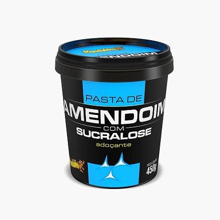 Pasta de Amendoim Com Sucralose (450g) - Mandubim (VENC: 03/2017)