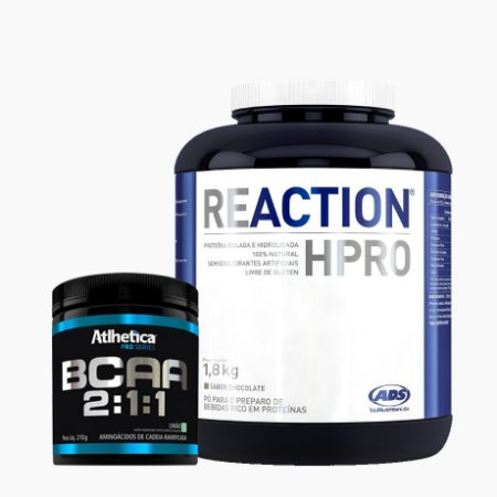 Reaction HPRO (1,8kg) + BCAA Pro Series (210g) - ADS
