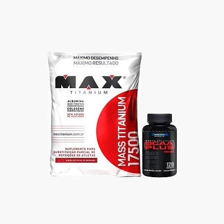 Mass Titanium (1,4 kg) + Bcaa Plus (120 caps) - Max Titanium