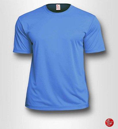 Camiseta Azul Celeste, 100% Poliéster