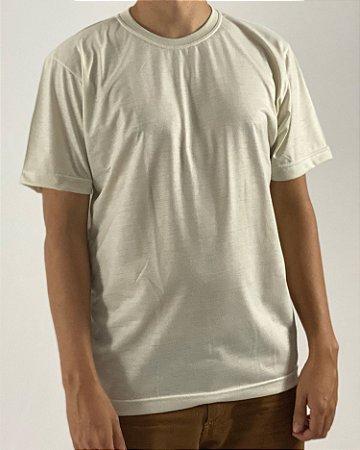 Camiseta Bege, 100% Poliéster