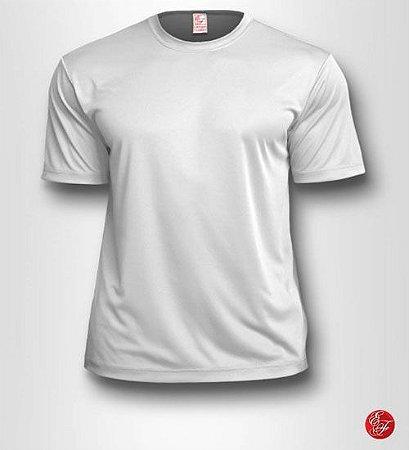 Camiseta Branca, 100% Poliéster
