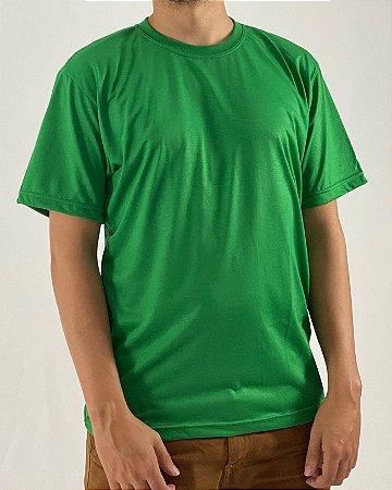 Camiseta Verde Bandeira, 100% Poliéster