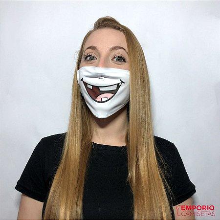 Mascara Personalizada - Boca 01