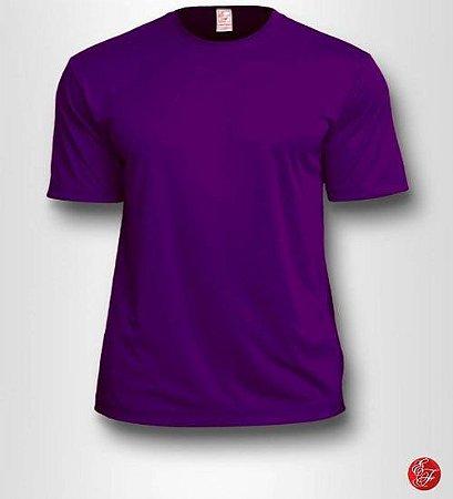 Camiseta Infantil Roxa - 100% Poliéster