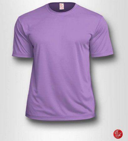 Camiseta Infantil Lilás - 100% Poliéster