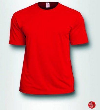 Camiseta Infantil Vermelho - 100% Poliéster