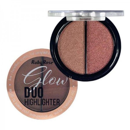 Glow Duo Highlighter - Ruby Rose