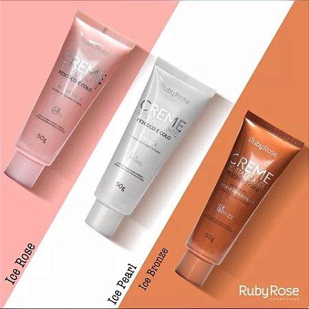 Creme revitalizante - Pescoço e Colo - Ruby Rose