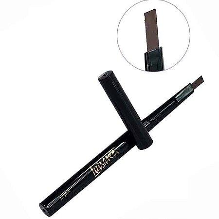 Lápis chanfrado para sobrancelhas