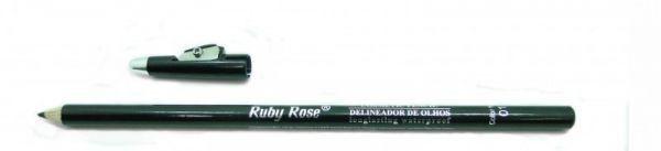 Lápis de olhos preto com apontador Ruby Rose