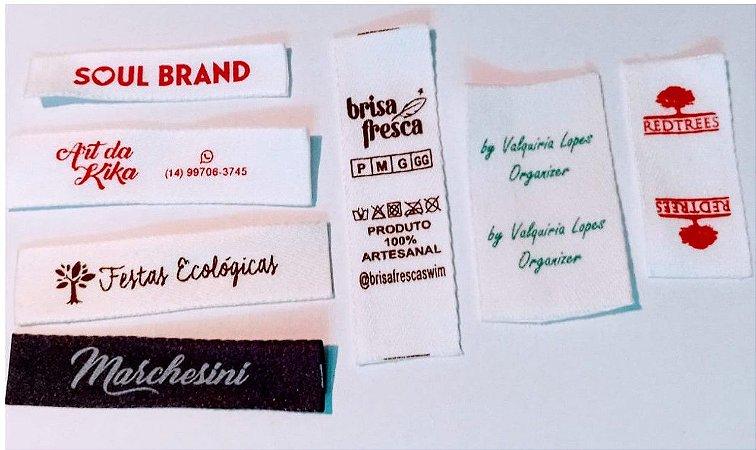Etiquetas Gorgorão Baixo custo e quantidade
