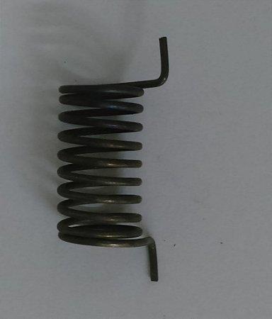 Mola central do eixo do batedor de tinta lado operador