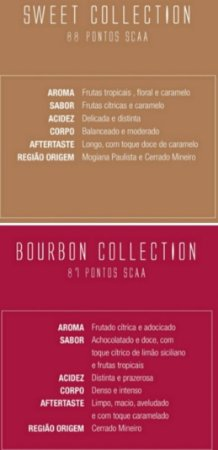 COMBO 1 - SWEET COLLECTION 500 GR + BOURBON COLLECTION 500GR
