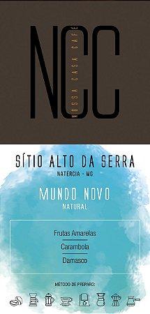 MUNDO NOVO - SITIO ALTO DA SERRA / NATÉRCIA / MG