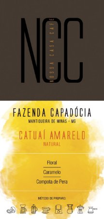 CATUAÍ AMARELO - FAZENDA CAPADÓCIA / MANTIQUEIRA DE MINAS / MG