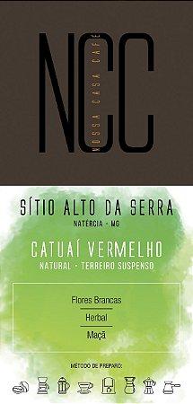 CATUAÍ VERMELHO - SÍTIO ALTO DA SERRA / NATÉRCIA / MG