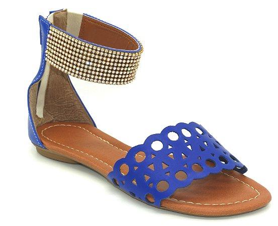Sandália (rasteira) Azul - Ref 510