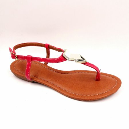 102 - Sandália (rasteira) pink - Ref 122
