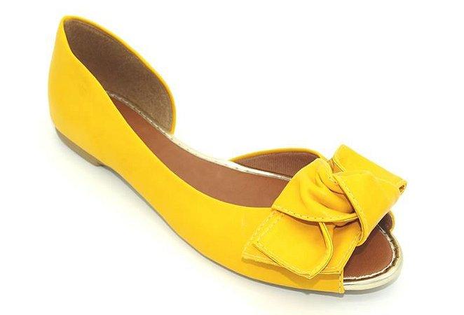 Sapatilha Aberta Amarela - Ref 005