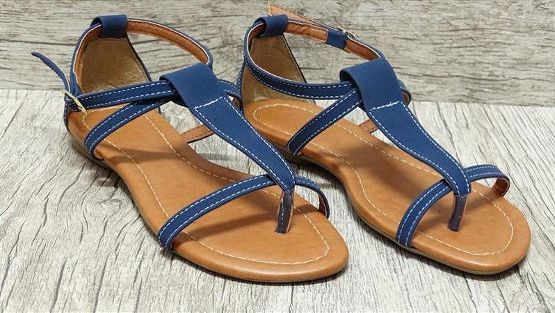 Sandália (rasteira) Marinho - Ref 124