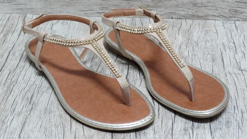 Sandália (rasteira) Natural - Ref 121