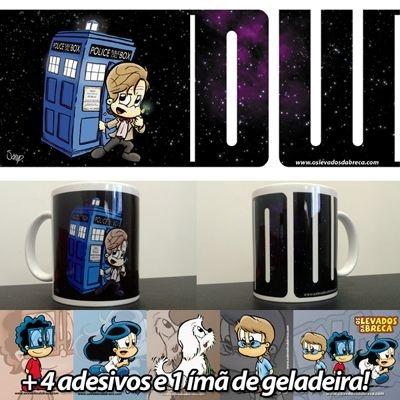 Caneca 11º Doctor Who - Versão Levados