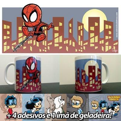 Caneca Homem-Aranha - Versão Levados
