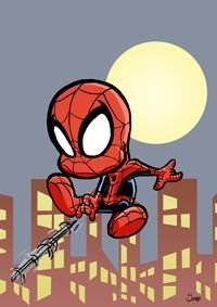 Pôster Homem-Aranha - Versão Levados