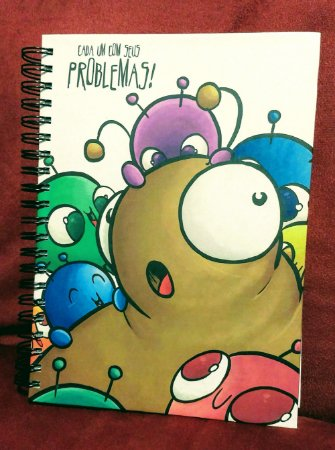 Caderno Problemas e Soluções capa dura - Grande