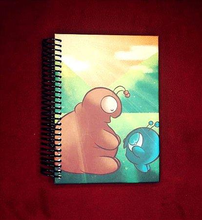 Caderno Problemas e Solução capa dura - Pequeno