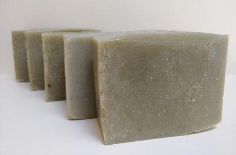 Sabonete Natural - Andiroba, Eucalipto e Argila Verde