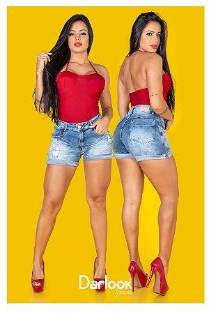 Shorts Jeans Barrinha Danila [3377] 2A