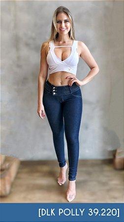 Calça Jeans com Trança Polly [39220] 1B