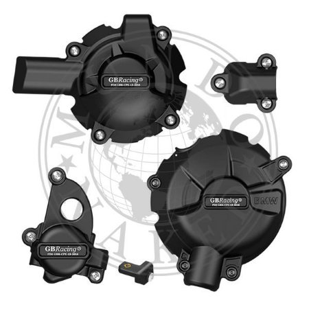 Kit 4 Tampas GB Racing Proteção De Motor S1000RR 2020 | 2021