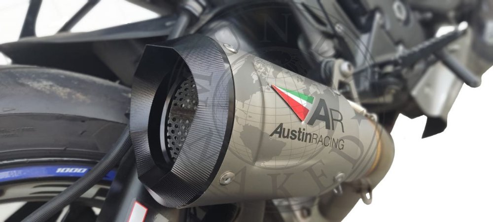 Escape Ponteira Austin Racing Kawasaki Ninja Zx6r 636 17 20